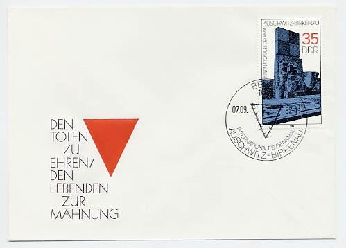 DDR FDC MiNr. 2735 Int. Mahn-u. Gedenkst.