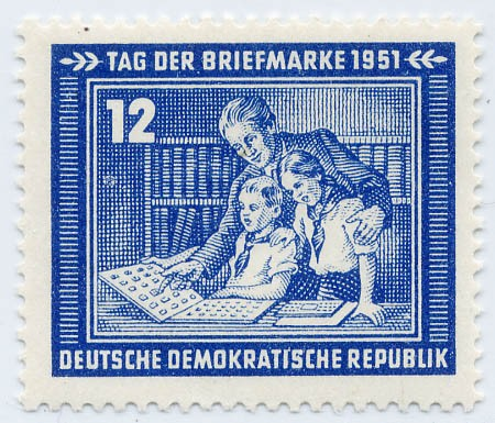 DDR MiNr. 295 ** Tag d. Briefmarke