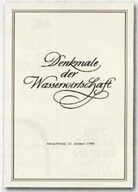 DDR ETB 86/1 Denkmale der Wasserwirtschaft