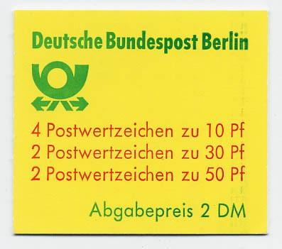 Berlin MH 11b ** Burgen und Schlösser 1980