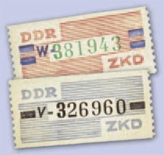 DDR Dienstmarken B MiNr. 26/27 ** 10 Pf. - 1 Wertbalken u. 20Pf.- 2 Wertbalken