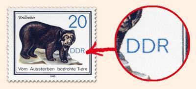 DDR MiNr. 2954 PF I ** 20Pf Vom Aussterben bedr.Tiere