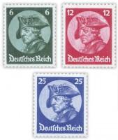 Dt. Reich MiNr. 479/81 * ungebraucht Friedrich der Große/Reichstagseröffnung