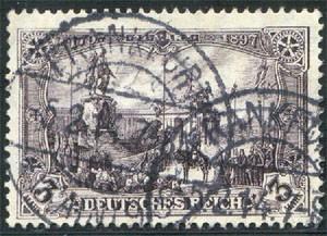 Dt. Reich MiNr. 96 AIa o gepr. Friedensdruck