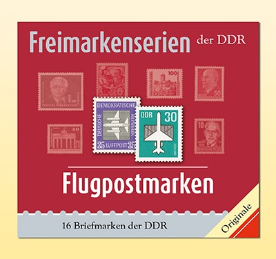 Philatelie-kompakt: Flugpostmarken Freimarkenserien der DDR