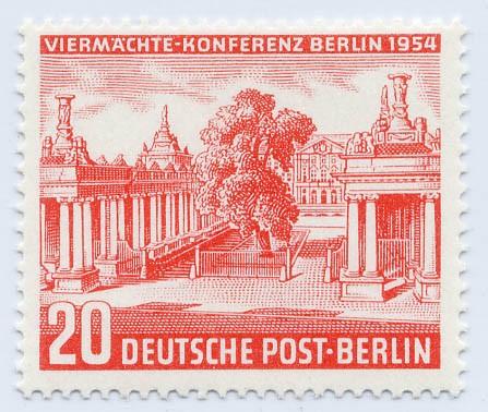 Berlin MiNr. 116 ** Viermächte-Konferenz
