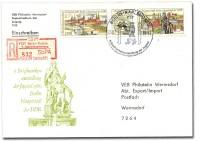 DDR Einschreib-Brief 1157 o (Juga 1)