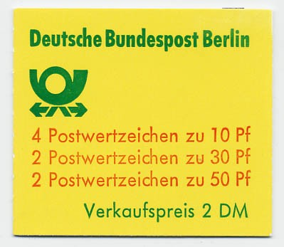 Berlin MH 10ba ** Burgen u.Schlösser, 1977