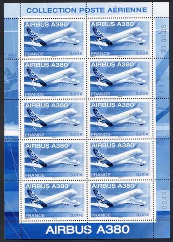 Frankreich Ausgabe Airbuss A380 **