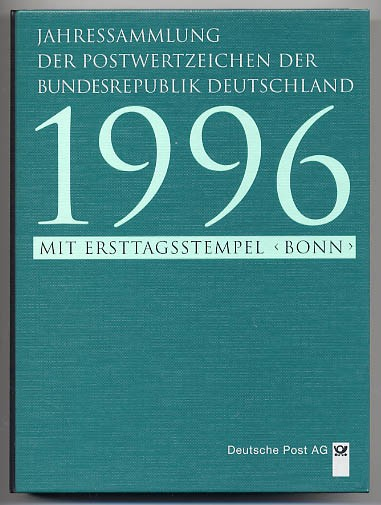 BRD Jahressammlung 1996 o