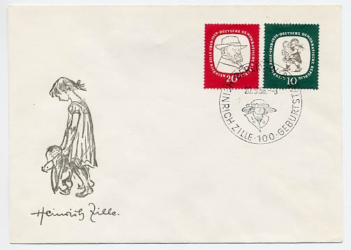 DDR FDC MiNr. 624/25 H. Zille