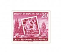 DDR Marke aus Bl.10 ** Mi.445B geschnitten