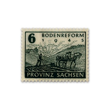 SBZ Prov.Sa. MiNr. 90 Z ** Bodenreform (Zig.-Pap.)