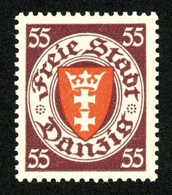 Freie Stadt Danzig MiNr. 269 ** FM Staatswappen im Kreis (VII)