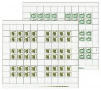 DDR MHB 20/21 ** MiNr. 3345/46 Freimarken: Bauwerke und Denkmäler