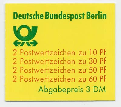 Berlin MH 12ca ** Burgen und Schlösser 1980