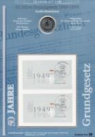 BRD Numisblatt 1/1999 50 Jahre Grundgesetz