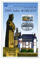 DDR Gedenkblatt G20 Koblenz