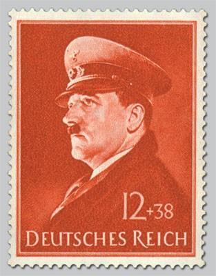 Dt. Reich MiNr. 772y ** 52. Geburtstag Hitlers
