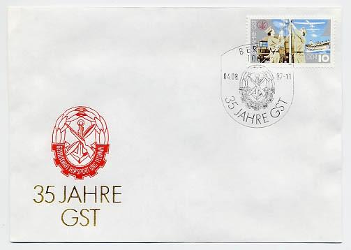DDR FDC MiNr. 3117 35 J. GST