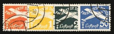 Freie Stadt Danzig MiNr. 298/301 o Flugpostmarken (VIII)