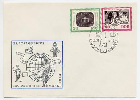 DDR FDC MiNr. 923/24 Tag d. Briefmarke