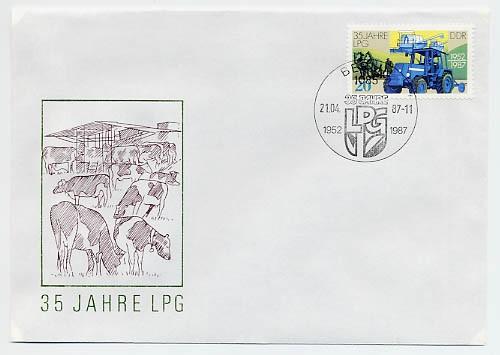 DDR FDC MiNr. 3090 35 Jahre LPG
