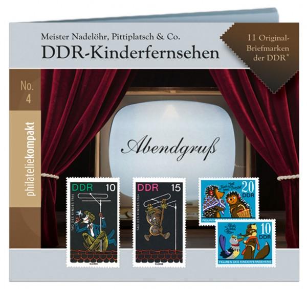 Philatelie-kompakt No.4: DDR-Kinderfernsehen