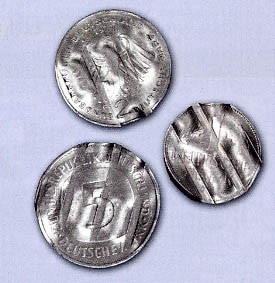 Brd Komplettes Set Amtlich Entwertete 1 2 5 D Mark Münzen