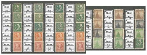 SBZ Thür. Papiersorten- und Farben-Kollektion