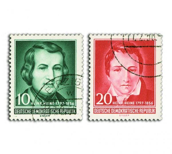 DDR MiNr. 516/17 o Heine