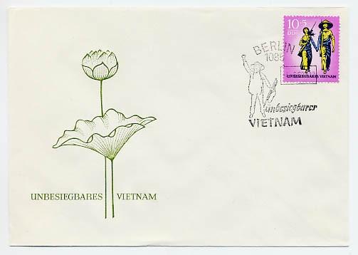 DDR FDC MiNr. 1476 Vietnam