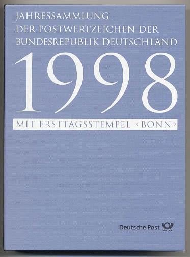 BRD Jahressammlung 1998 o