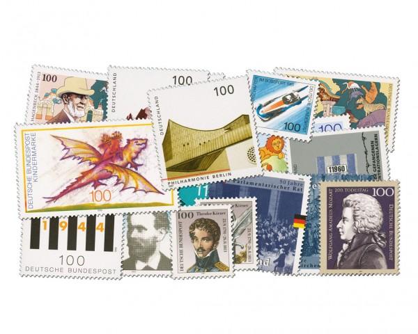 BRD Briefmarken aus Blocks der 90erJahre ** (54 Blockmarken)