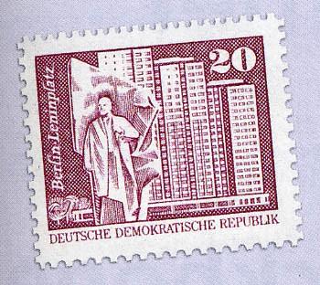 DDR MiNr. 2485w ** (glänzend) Freimarken: Aufbau in der DDR (klein) 20 Pf