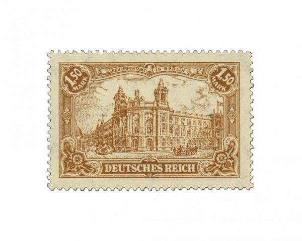Dt. Reich MiNr. 114 a, b, c ** gepr. Darstellung Dt. Kaiserreich VI