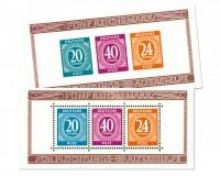 All.Bes.GA Bl.12 A/B MiNr. 924/27 **  Briefmarkenausstellung Berlin 1946