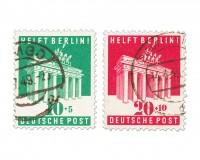 Bizone MiNr. 101/02 o Berlin-Hilfe 1948