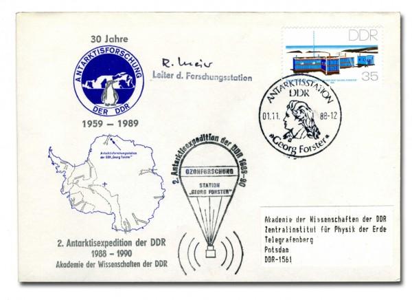 Sonderbeleg 2.Antarktisexpedition (Einzelstück)