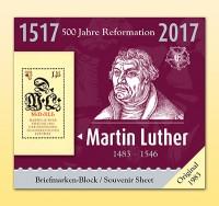 Philatelie-kompakt: Martin Luther 500 Jahre Reformation