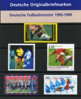 BRD - Motivkollektion  Deutsche Fußballmeister 1995-1999 **