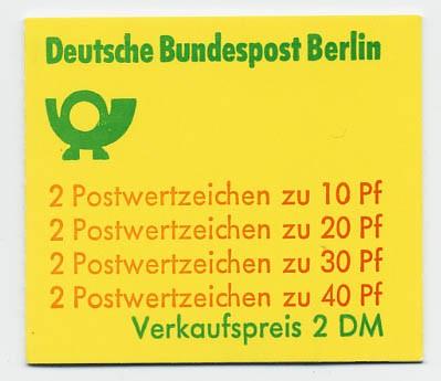 Berlin MH 9a ** Unfallverhütung, 1974