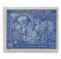 All.Bes.GA MiNr. 942 I AZ ** gepr. Leipziger Frühjahrsmesse 1947, 60+40Pfg