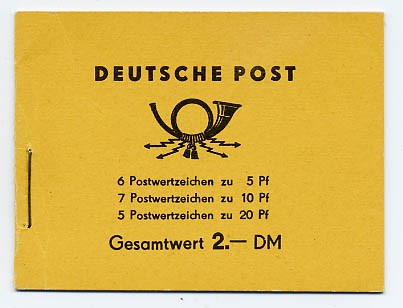 DDR MH 2ca1 ** Freimarken: Fünfjahrplan mit WZ 3
