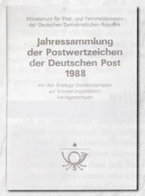 DDR Jahressammlung 1988 o