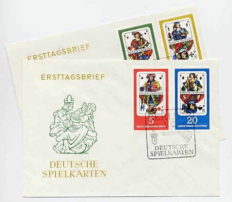 DDR FDC MiNr. 1298/1301