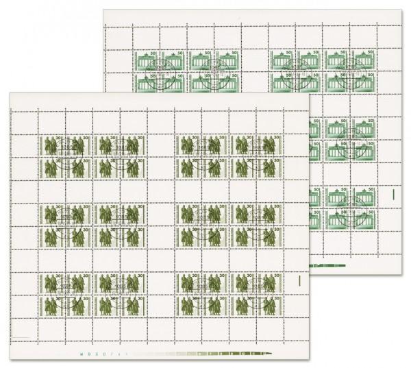 DDR MHB 20/21 o MiNr. 3345/46 Freimarken: Bauwerke und Denkmäler