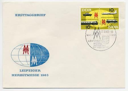 DDR FDC MiNr. 976/77 LHM 1963
