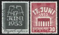 Berlin MiNr. 110/11 o