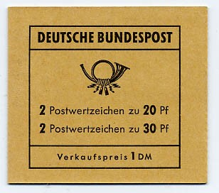 BRD MH 14b ** Brandenburger Tor 1968